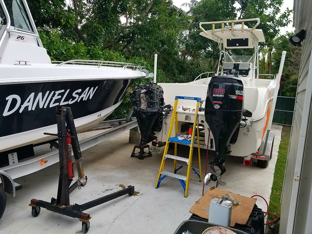 JA Outboard Engine Service and Repairs - Mercury, Yamaha and